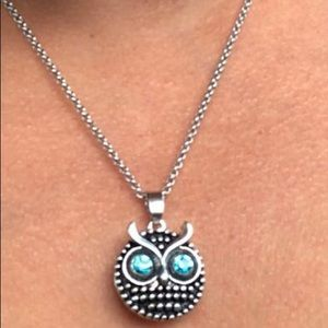 Owl button and pendant only me..!!